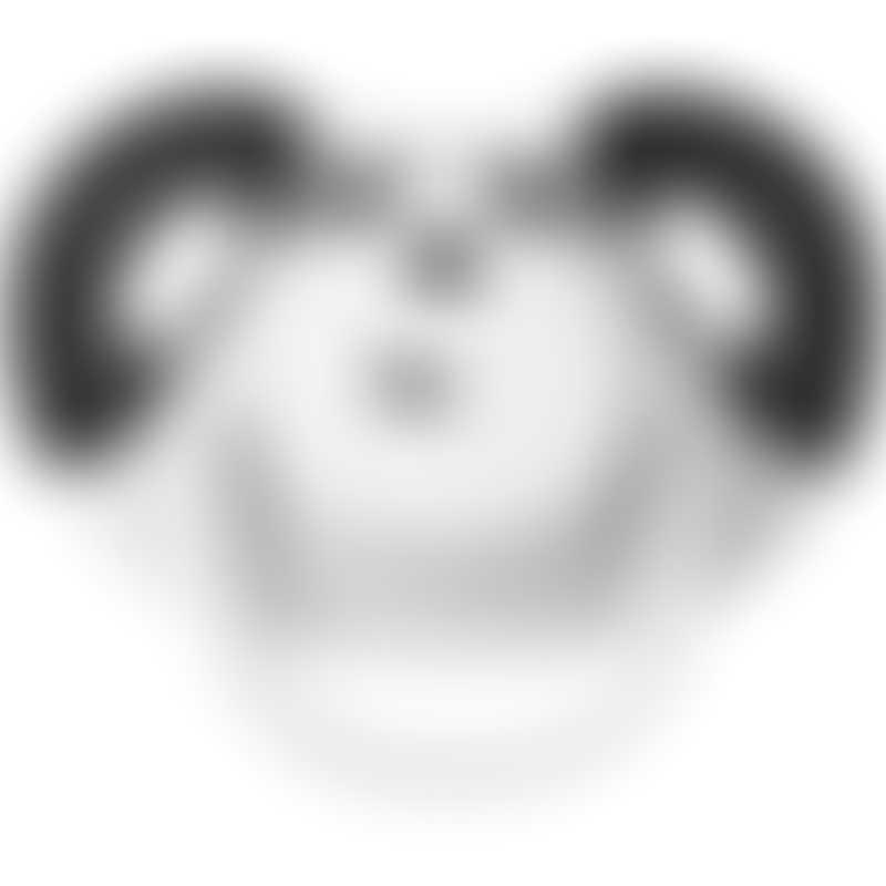 Dumforter Soother, Teether, Comforter - Pepper Panda
