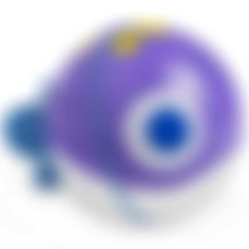 Munchkin Spinball Fish Bath Toy - Purple