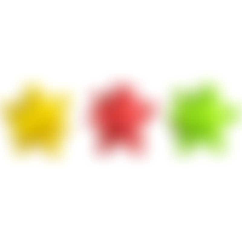Splash About Splash Jacks Pool Teether Toys 3-Pack - Green/Red/Yellow