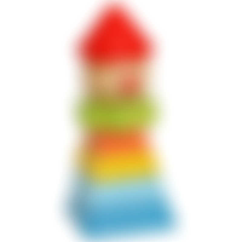 EverEarth Stacking Clown - Red