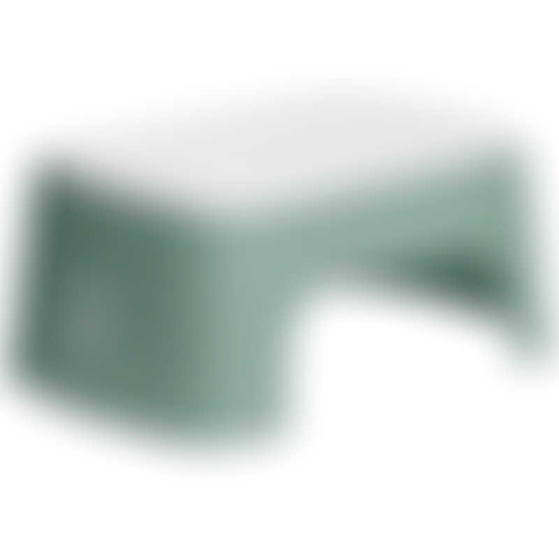 BabyBjorn Step Stool - Deep Green/White