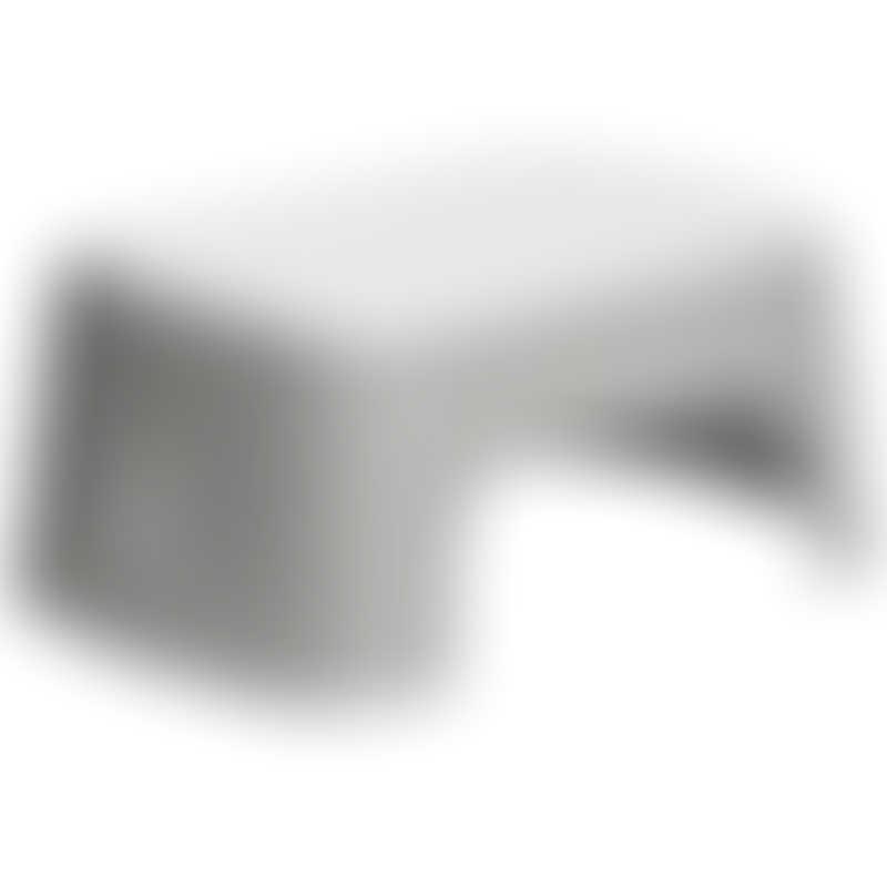 BabyBjorn Step Stool - Grey/White