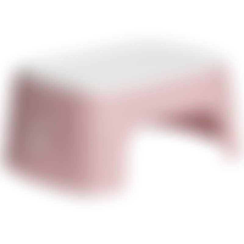 BabyBjorn Step Stool - Powder Pink/White