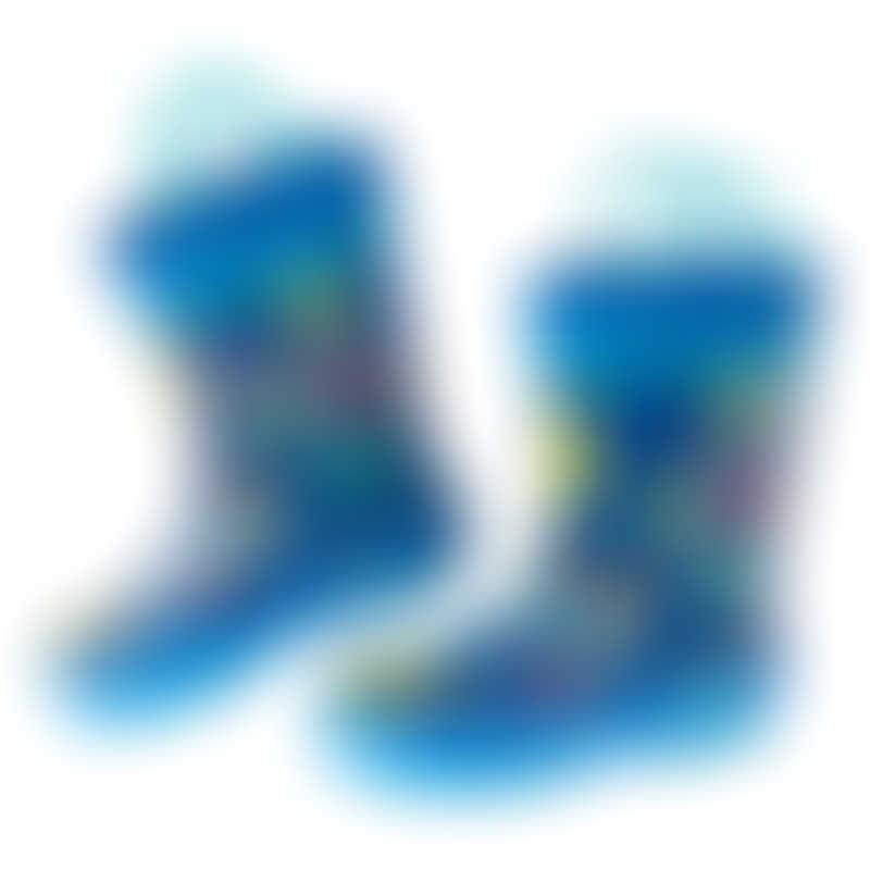 Stephen Joseph All-Over Print Rain Boots - Robot