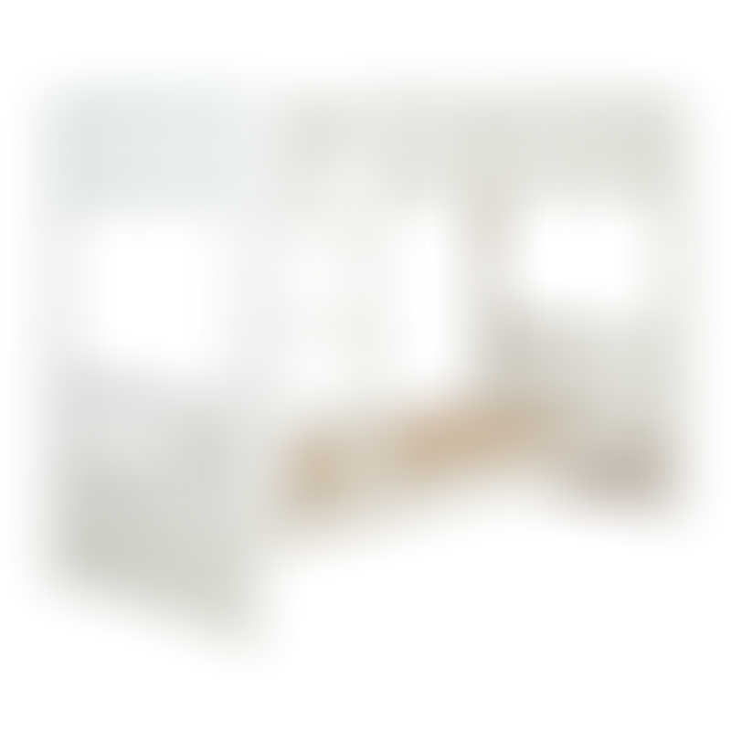 Stompa Uno Detachable Bunk Bed - White