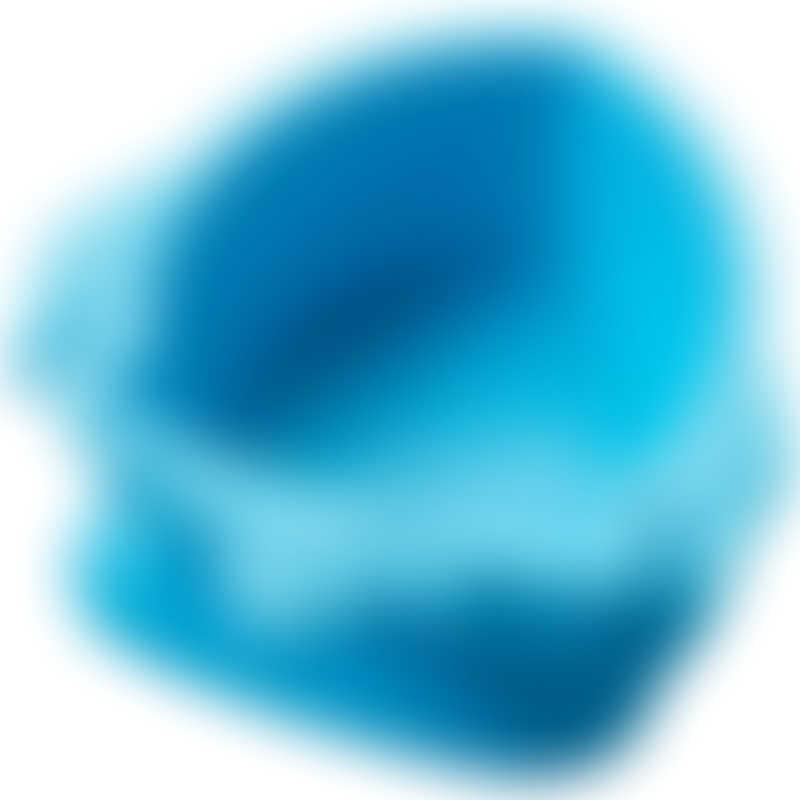 Nuby Sure Grip Suction Base Rocket Bowl - Blue 6m+