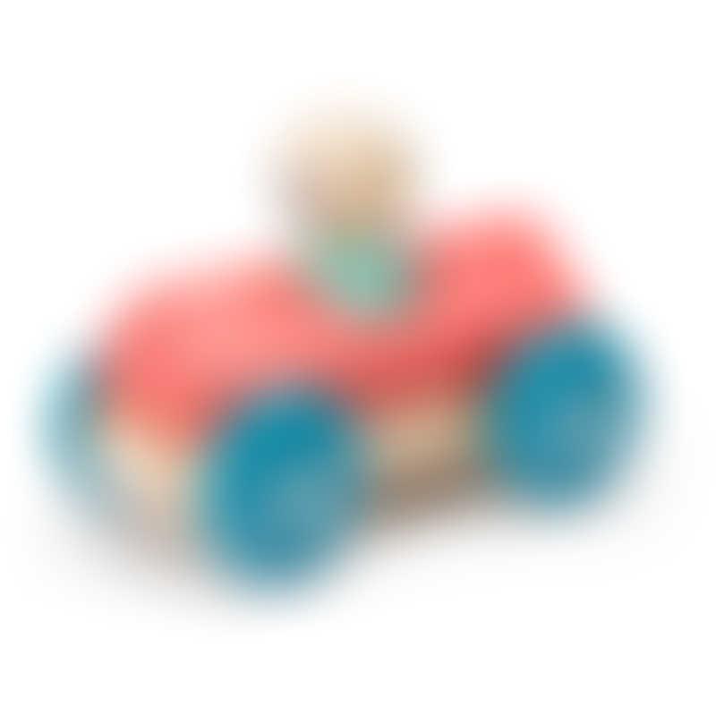 Tegu Magnetic Racer - Poppy Racer