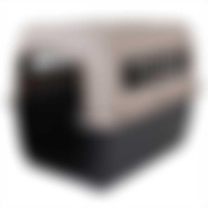 """Petmate Ultra Vari Kennel - Intermediate 32"""" - Taupe/Black"""