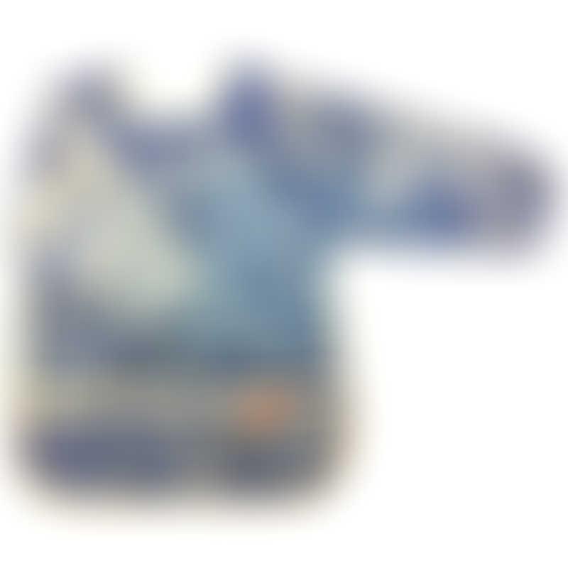 Parents League Waterproof Coverall Catcher Bib - Denim Blue