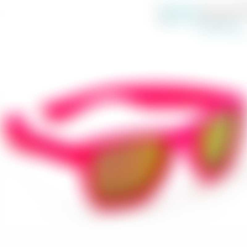 KOOLSUN Wave Kids Sunglasses - Neon Pink (1-3 yrs)