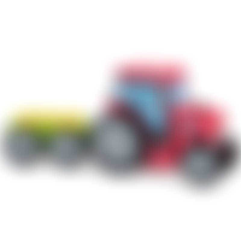 ELC Wooden Farm Tractor and Trailer